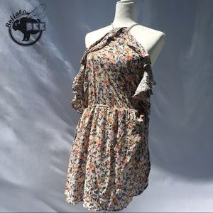 NWT American Eagle floral dress with keyhole back